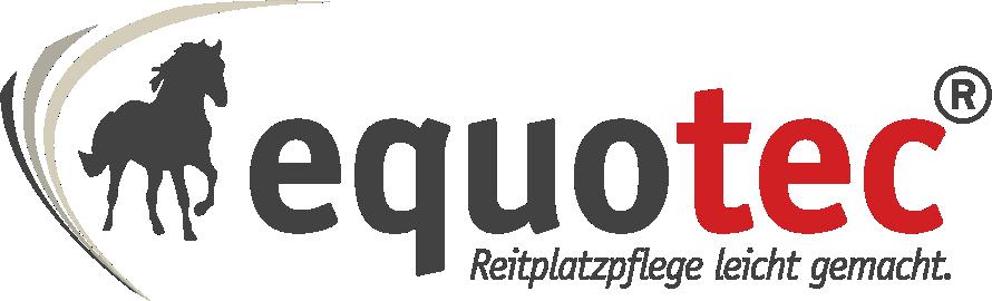 equotec GmbH | Reitplatzpflege leicht gemacht.-Logo